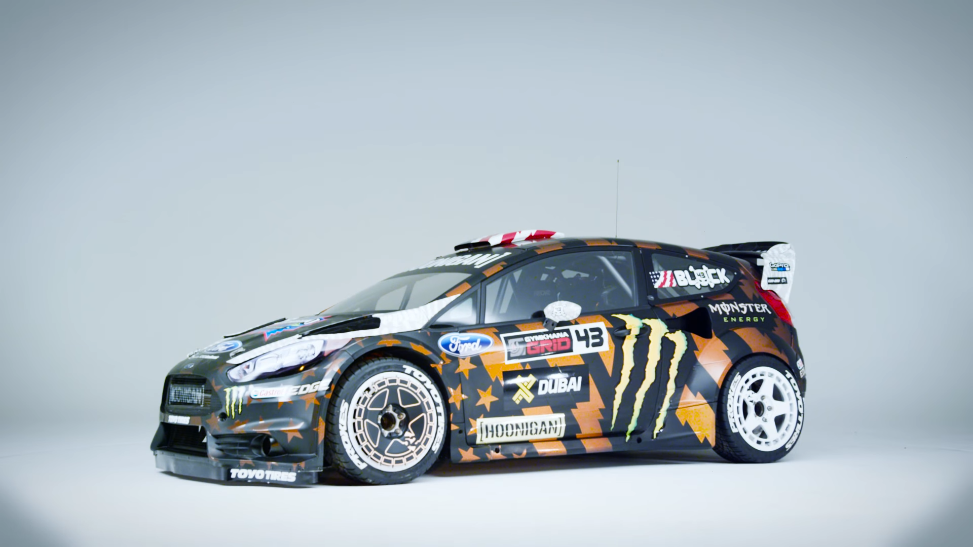 Ken Block Shows Off His New 650hp Fiesta ST Used In Upcoming Gymkhana 8
