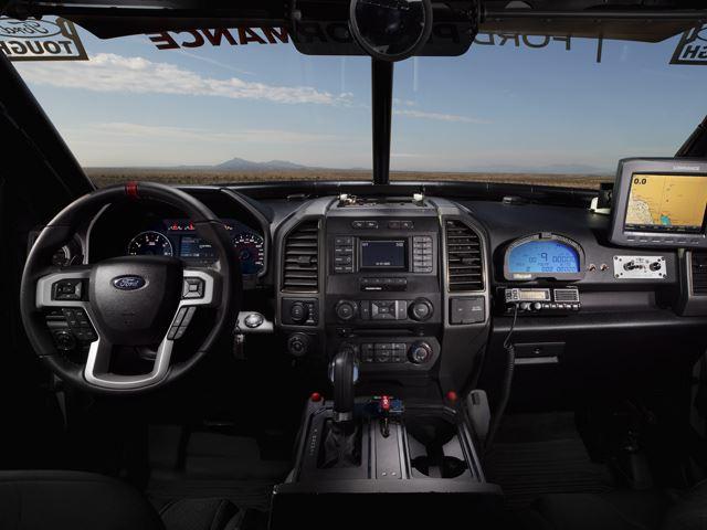 racetruck interior