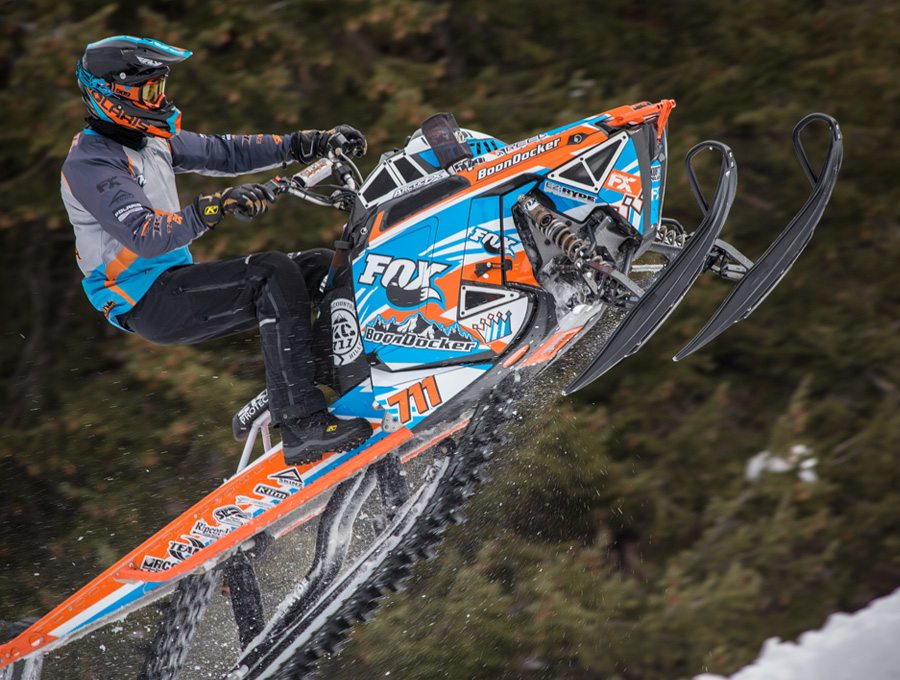 Keith Curtis On his Turbo Pro RMK PHOTO: RideFox