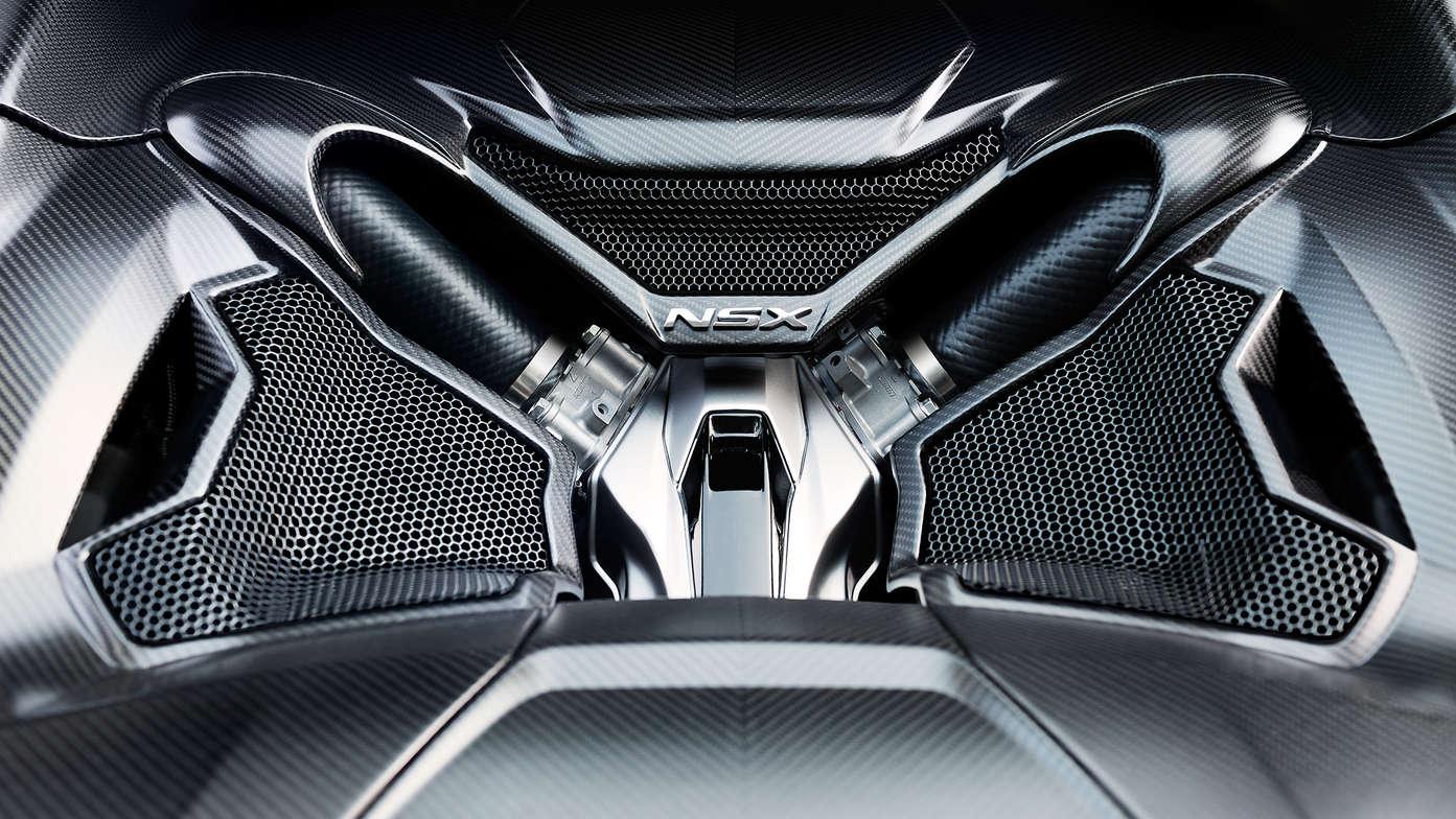 2017 NSX Engine Bay Photo: honda