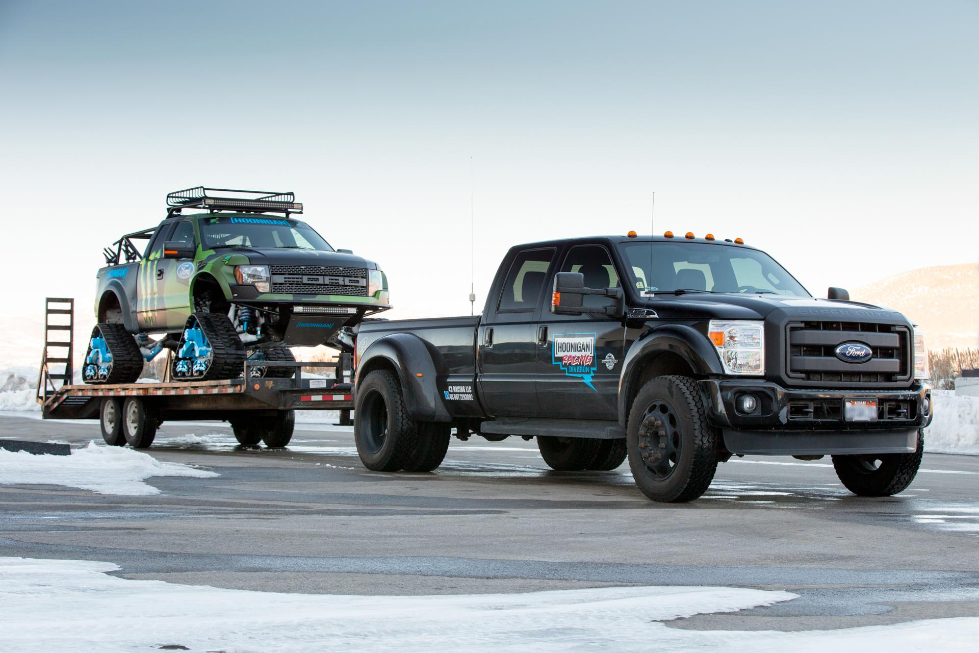 How about this tow setup! Photo: ozzytires