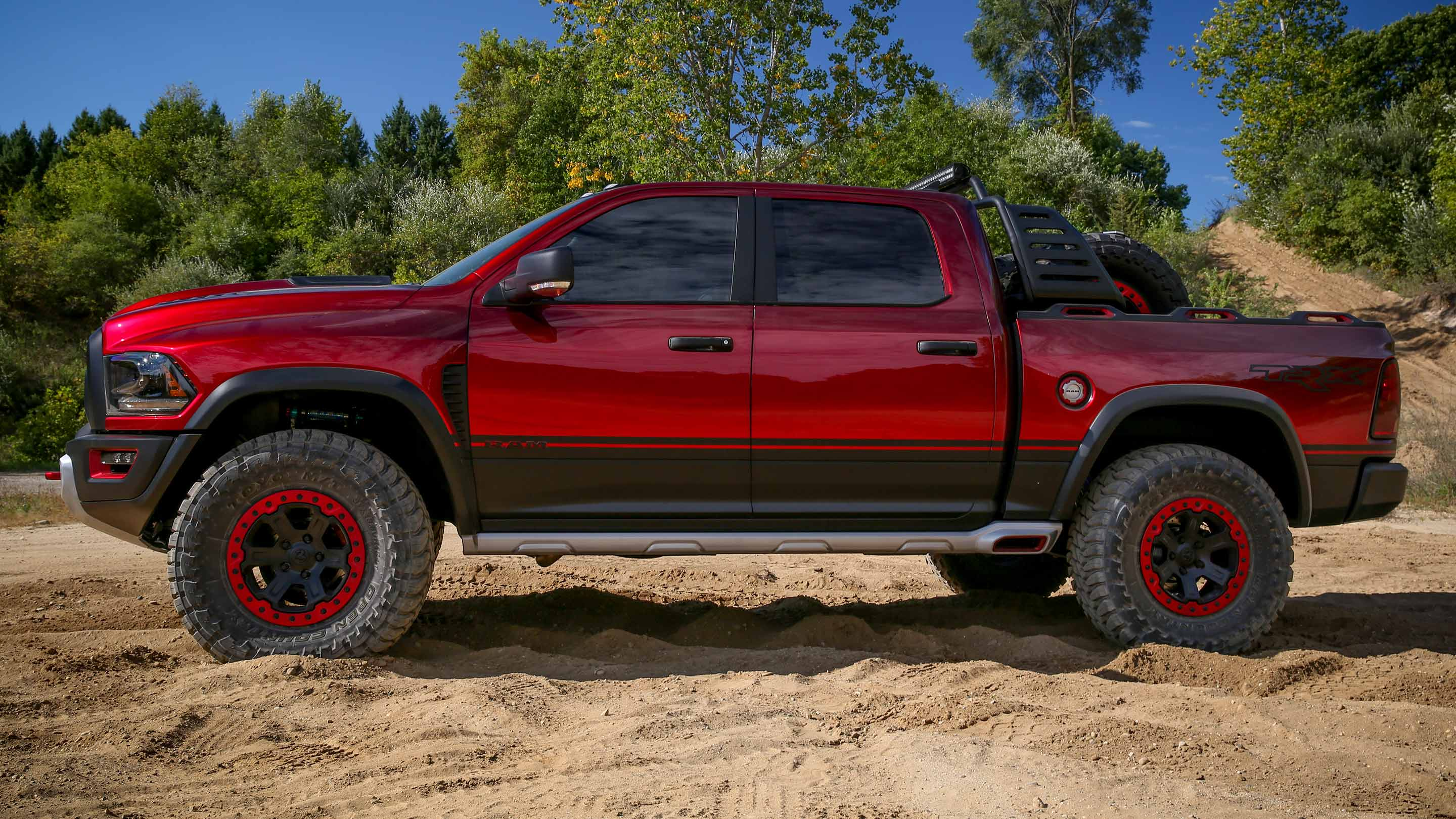 RAM Rebel TRX Concept Photo: ramtrucks