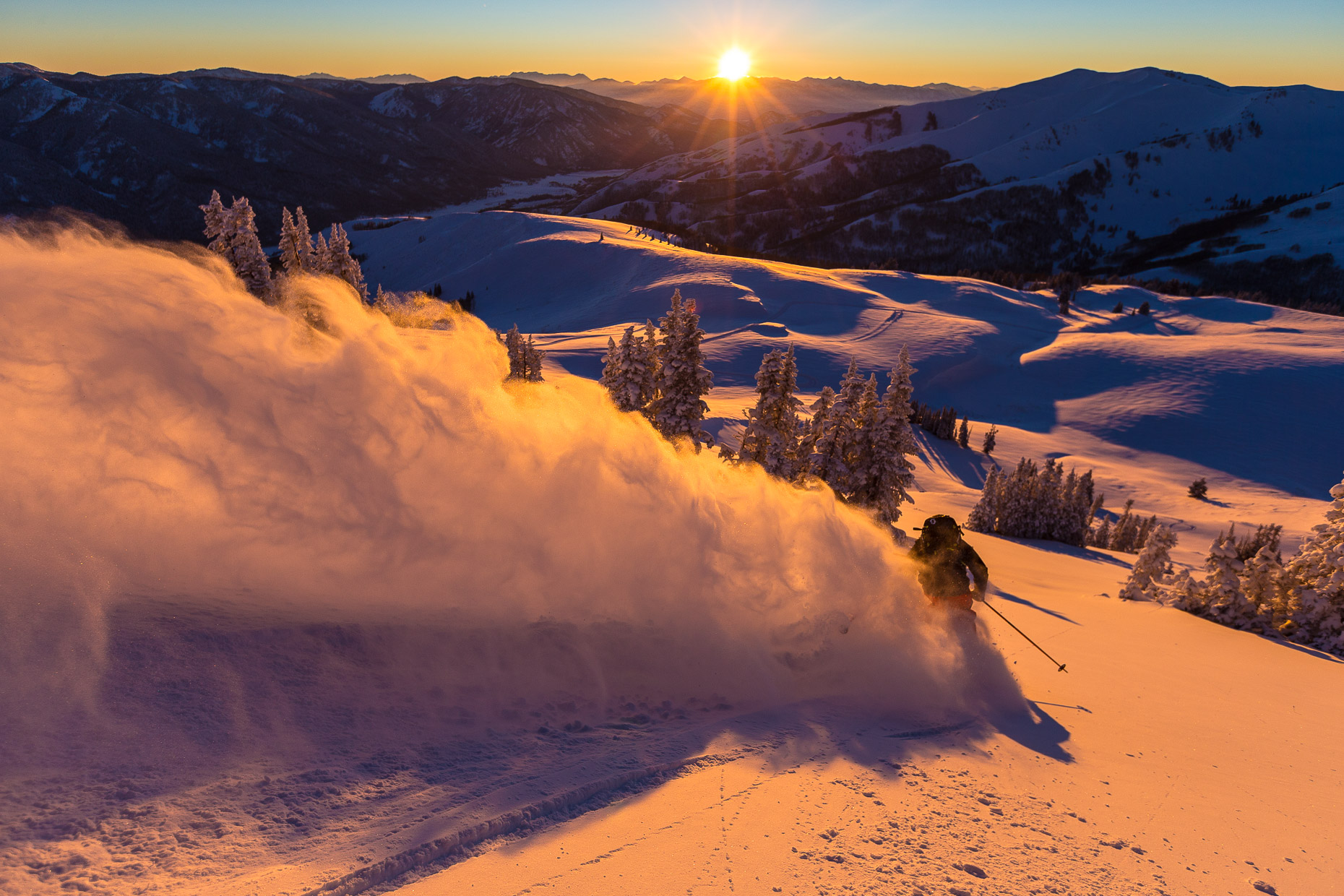 Dane Tudor Shredding at Park City Utah Photo: grantgunderson