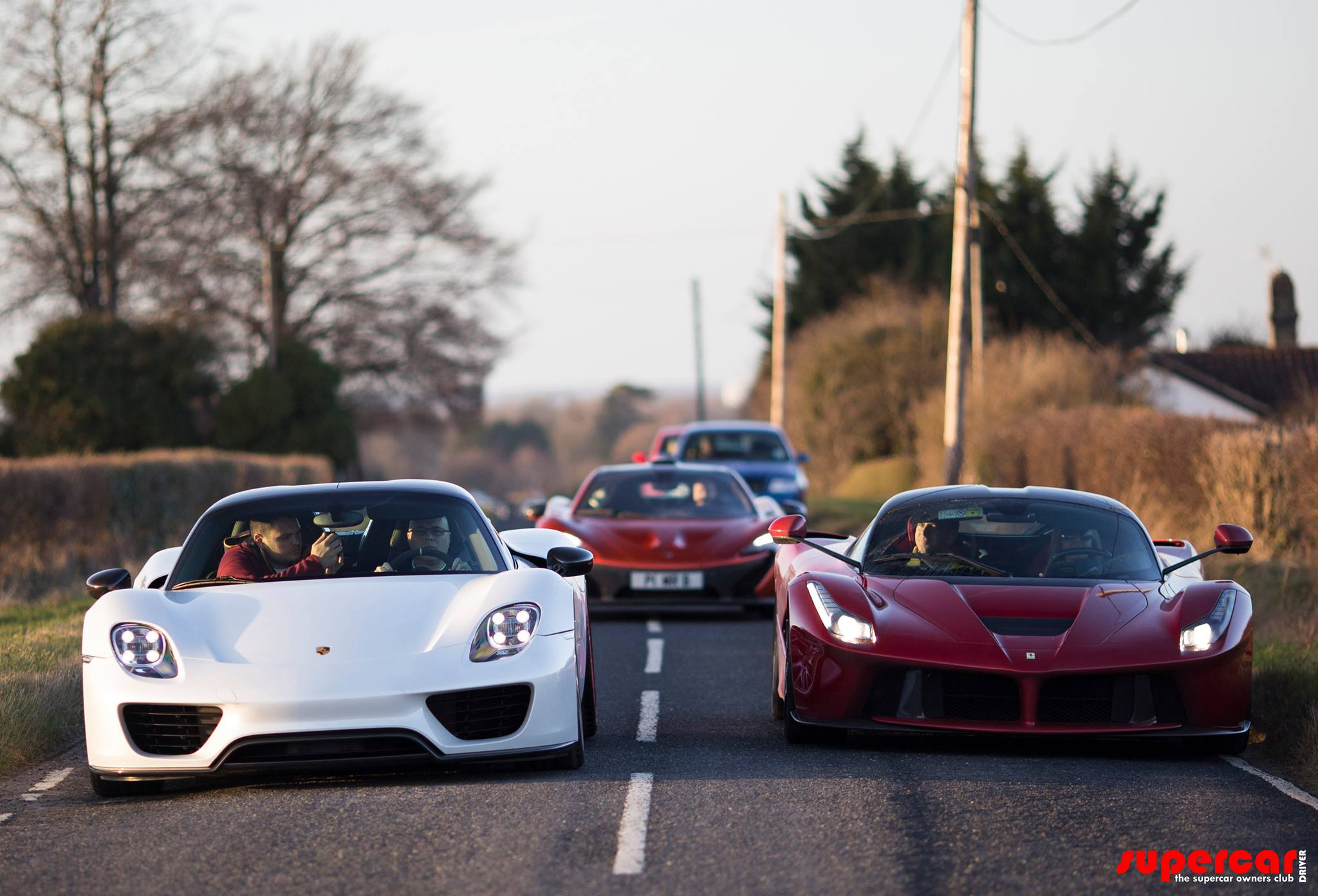 Paul Bailey and his Holy Trinity of Hypercars Photo: motorauthority
