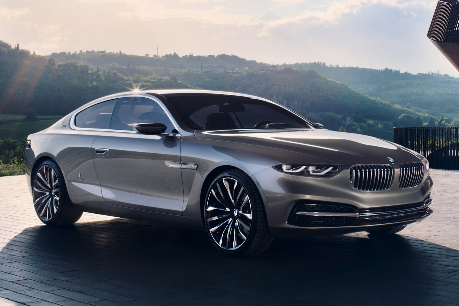 Rendering of what the 8 series could look like  Photo: carscoops