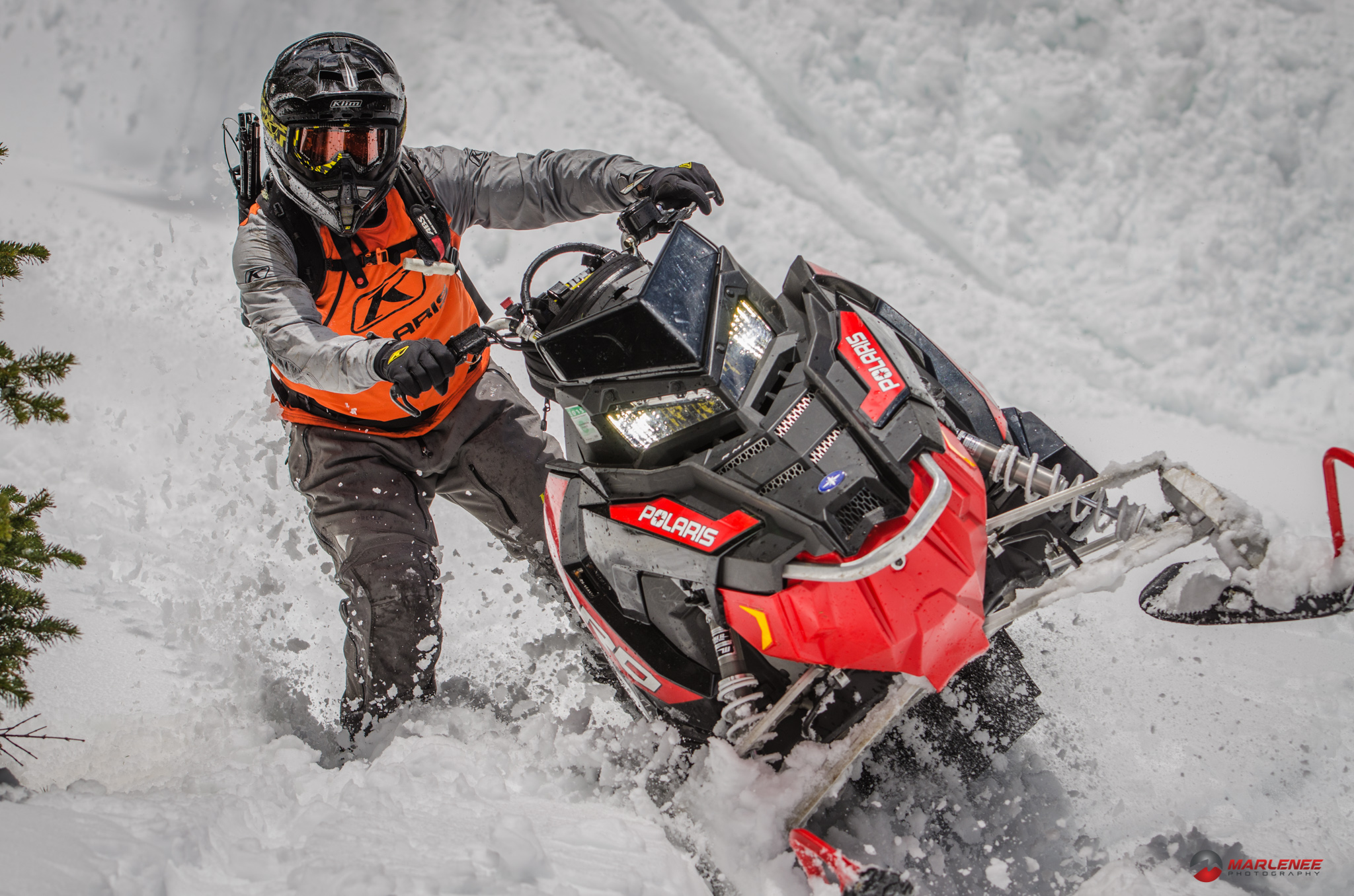 This isnt Keith Curtis, but it is a great picture of the PRO RMK 800 though Photo: marleneephotography