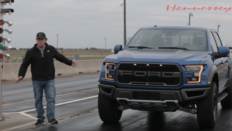 John Hennessey Tests the Performance of the 2017 Raptor