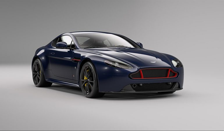 Aston Martin Unveils the Red Bull Racing Edition V8 Vantage & V12 Vantage S