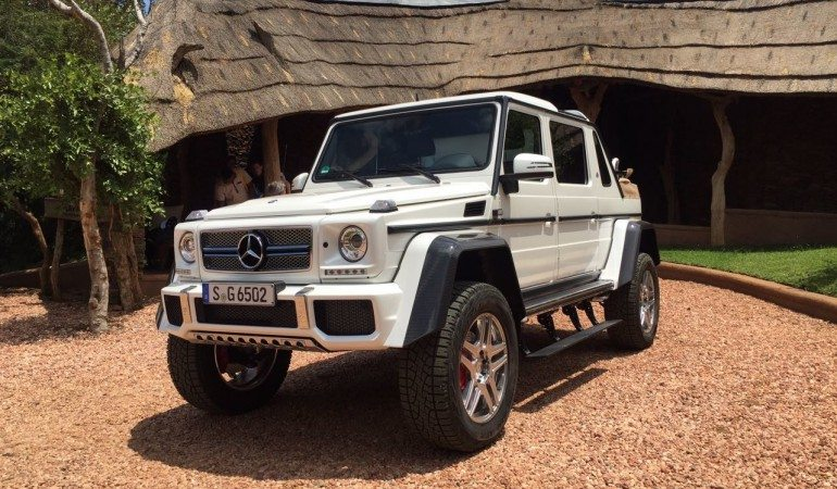 Mercedes Retires the G-Wagon Platform in Style With the Maybach G650