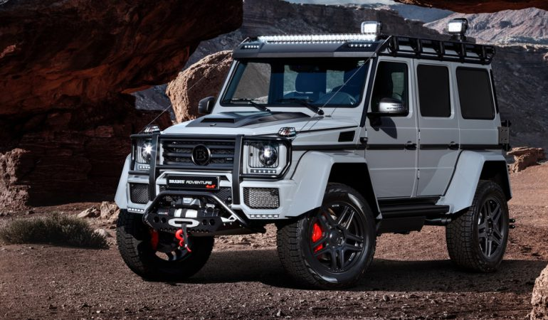 The Brabus Tuned G550 Adventure 4×4² Is Even Better Than You Would Expect