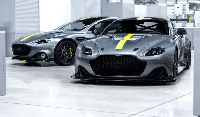 Aston Martin Bridges the Gap From Luxury to Racing with AMR Announcement