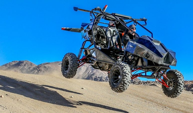 The Skyrunner Gives a Whole New Meaning to the Term All Terrain Vehicle