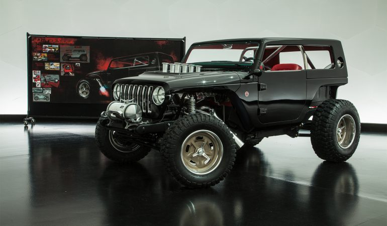 Jeep Quicksand: Possibly the Most Insane Jeep Concept Since the Trailcat