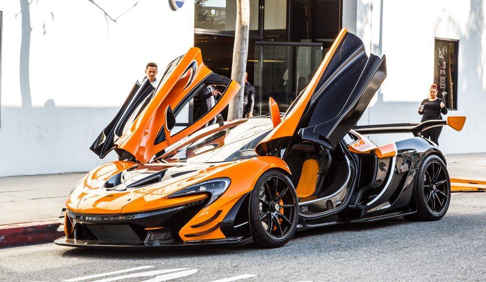 Mclaren P1 Orange >> This Street Legal Mclaren P1 Gtr Is One Sexy Beast Moto