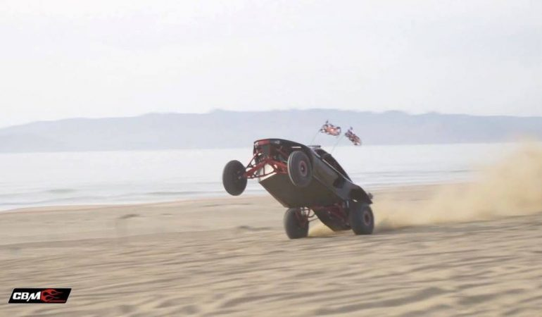 This Custom Built Buckshot X-2R is a 2000 HP Supercar for the Sand