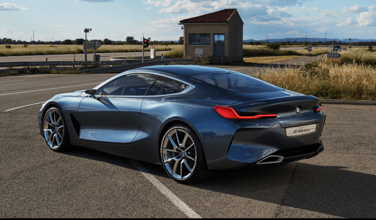 "BMW Releases Concept 8 Series and Claims it's a ""Full-Blooded Driving Machine"""