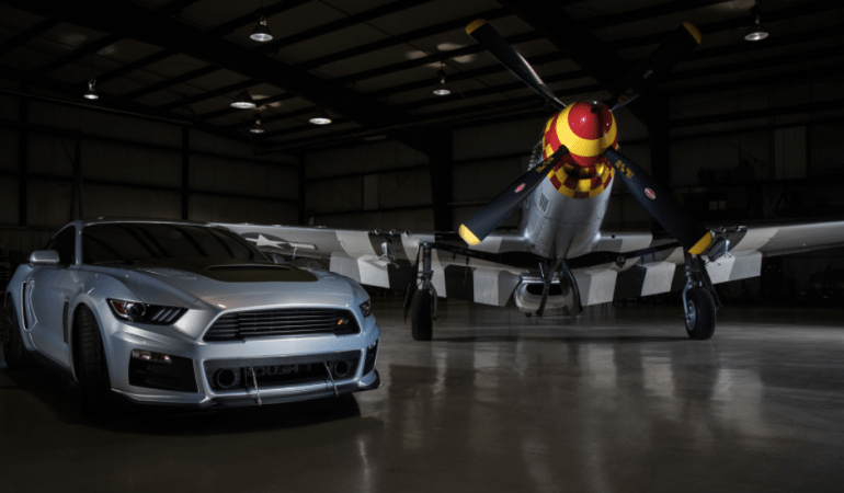 ROUSH Performance Pays Homage to a Military Icon With the 727hp P-51 Mustang