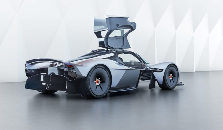 Aston Martin Released Official Photos of the Valkyrie and it Looks Like the Future is Here