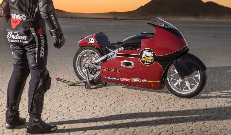The Spirit Of Munro: A Fitting Tribute To The Worlds Fastest Indian