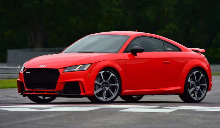 Audi's New TT RS Is 2018's Mini Supercar Bargain