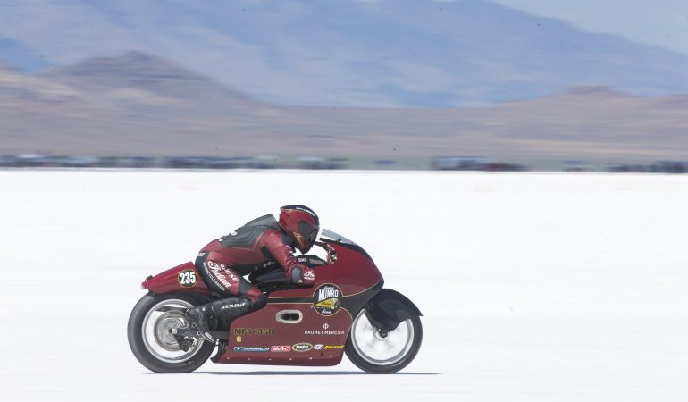 Indian's Latest Land Speed Attempt Pays Perfect Tribute To Burt Munro