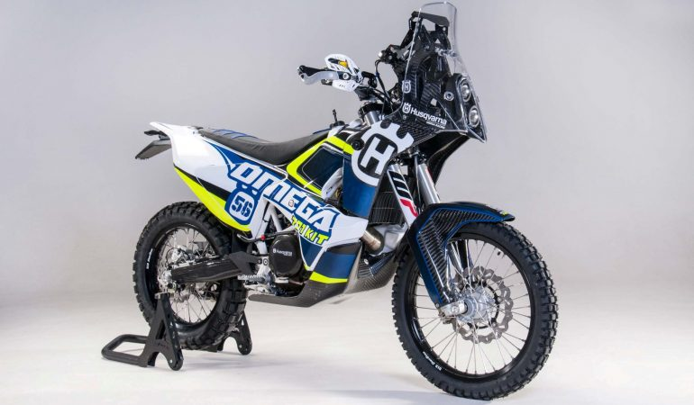 Make Your Rally Racing Dreams Come True With This Husqvarna 701 Rally Kit