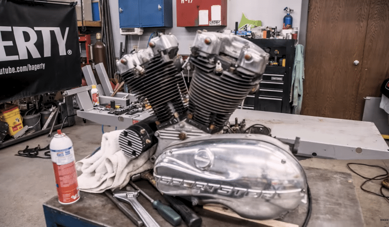 Hagerty Shows Of An Ironhead Rebuild With A Magnificent Time-Lapse Video