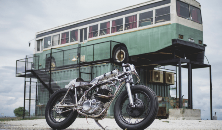 There Are Custom Bikes, Then There Is This SR400