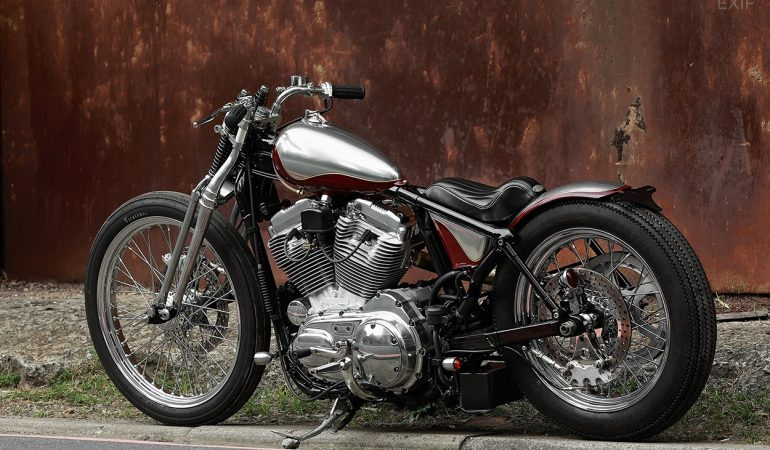 When New Goes Old: 2Loud's Custom Harley 883 Bobber