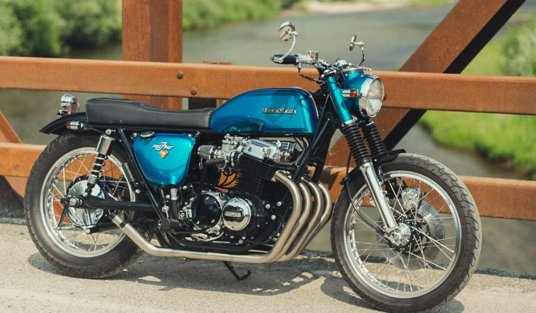 'Sweet Jane' Is The Restomod CB750 That Could Easily Be Straight From The 70's