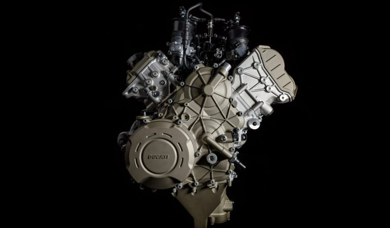 Ducati Pulls The Curtain Off Of Its Newest Engine, The Desmosedici Stradale