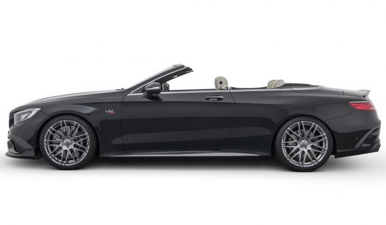 The Brabus Rocket 900 Cabrio: The Fastest, Most Powerful Convertible in the World