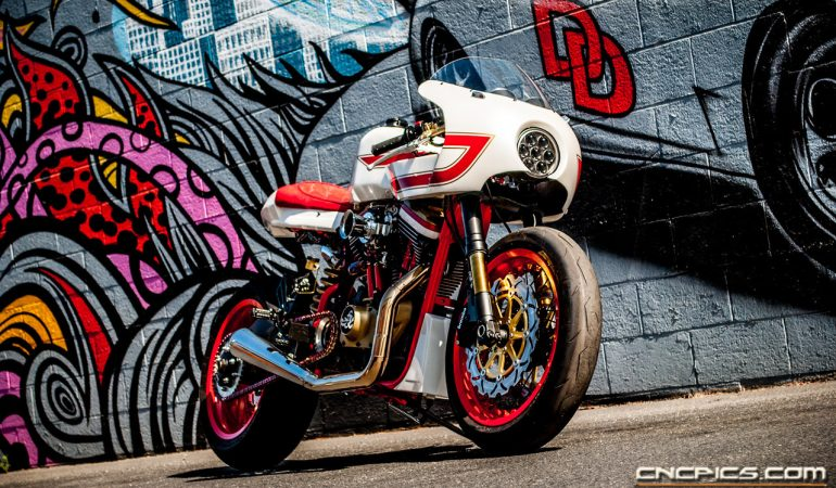 JSK Customs 'Ivory Comet' Is A Harley That Stands Out From The Rest