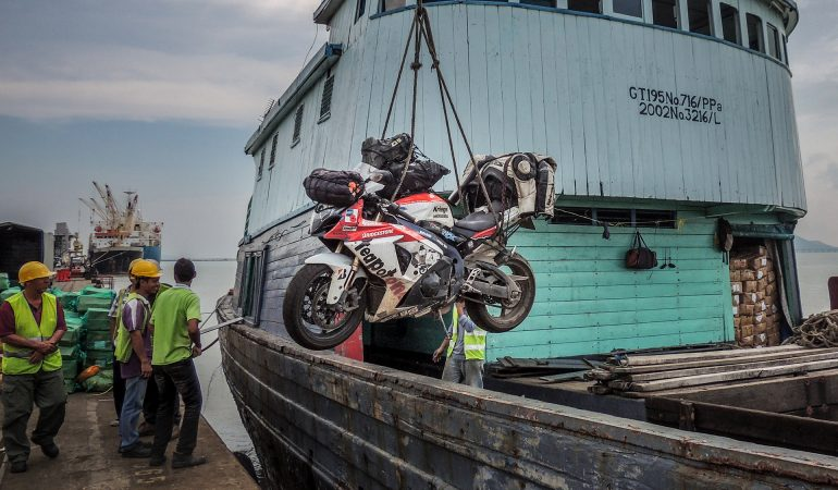 The Most Unlikely Journey Around the World, On A GSX-R1000
