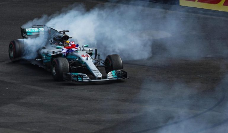 Just Like That, Lewis Hamilton Secures His 4th World Title