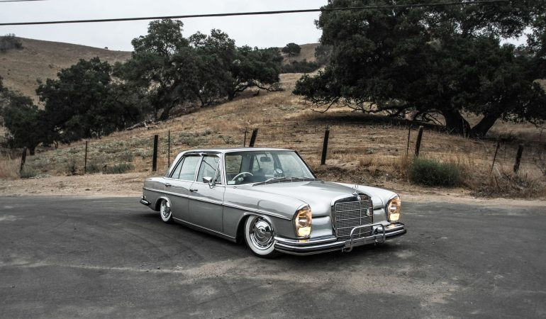 Of Course The Only Car That Can Make 'Stance' Look Good Is A Classic Mercedes-Benz