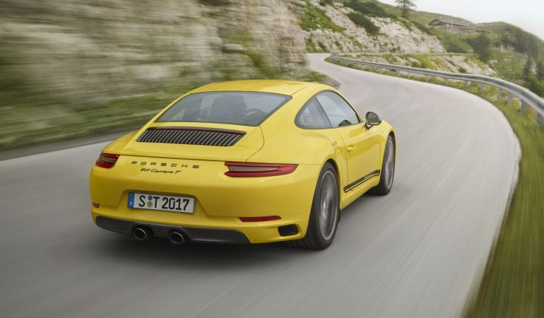 Porsche Just Resurected The 911T, Making It The Lightest Carrera On The Market